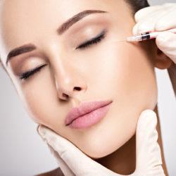 iniekcje botoxu wokół oczu - usuwanie kurzych łapek